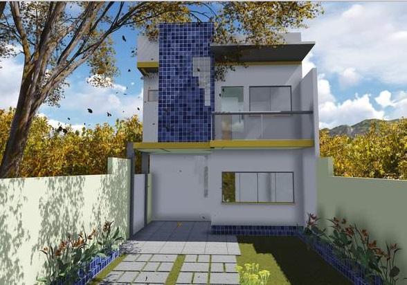 Casa de dos planta y tres dormitorios