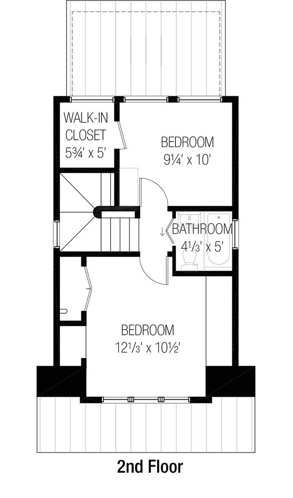 Peque a casa de dos plantas tres dormitorios y 77 metros for Planos de casas de dos plantas y tres dormitorios