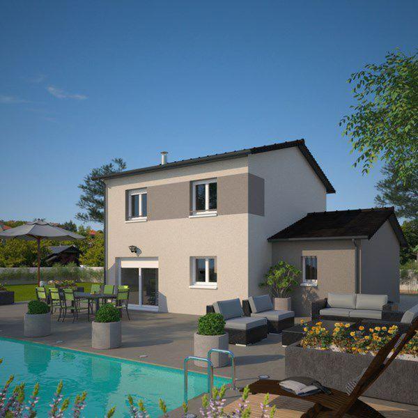 Plano de casa francesa de 4 dormitorios y 130 metros - Garcia ruiz arquitectos ...