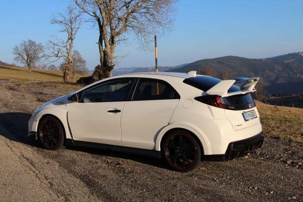 Honda Civic Type R 2015 Seitenansicht