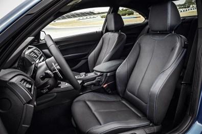 BMW M2 Ledersitze