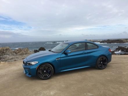 BMW M2 Coupe im Seitenprofil