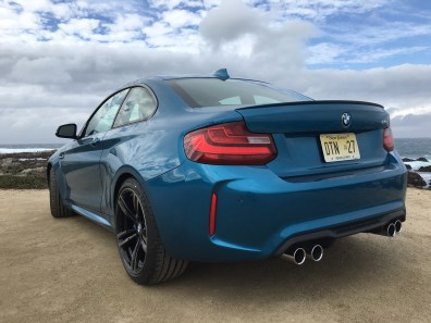 BMW M2 Coupe kleiner Heckspoiler