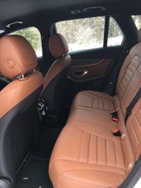 Mercedes GLC rücksitze
