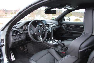 BMW M4 2016 Innenraum