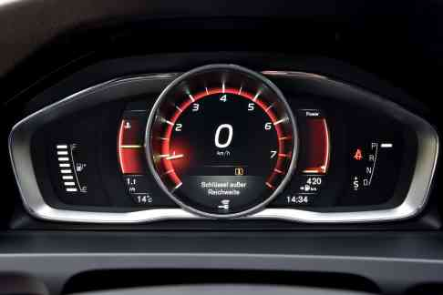Volvo V60 Polestar Display