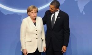 Obama schenkte Merkel sogar ein Blackberry, um immer mithören zu können.