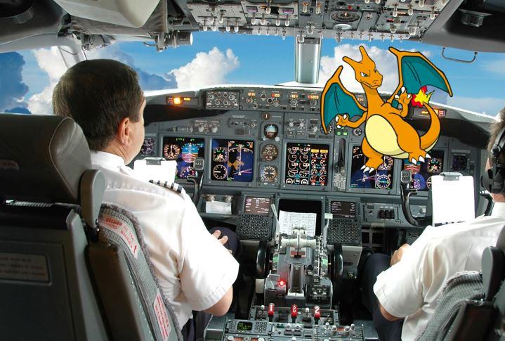 """Wenn Piloten von einem """"Monster im Cockpit sprechen"""", meinen sie normalerweise eine dicke Flight Attendant."""