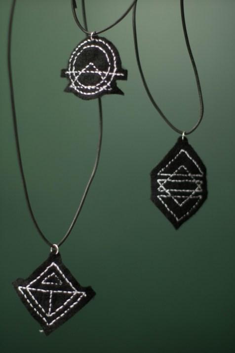 Kette Sticken DIY Schmuck geometrisch_-15