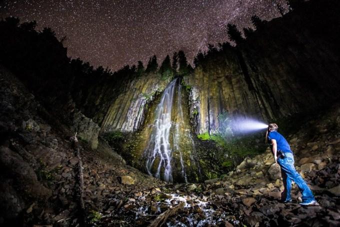 Andy Austin Pallisade Falls