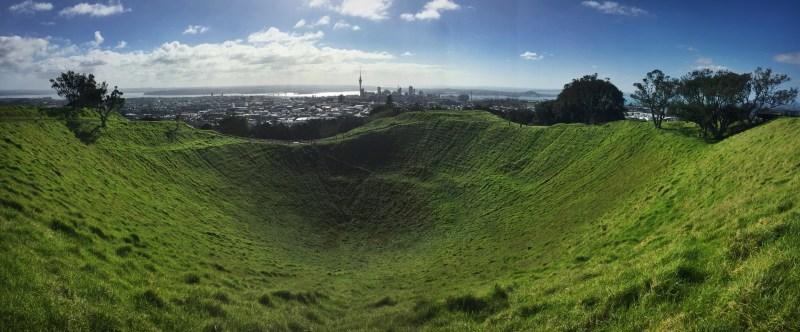 Derek Loudermilk New Zealand Art of Adventure Auckland Volcano