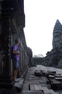 Visiting Angkor Wat at Sunrise Derek Loudermilk