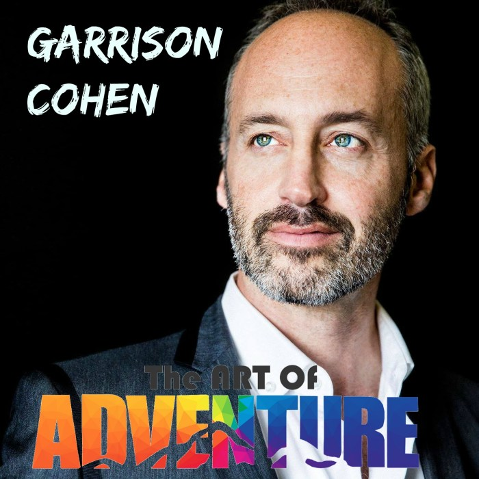 Garrison Cohen Art of Adventure