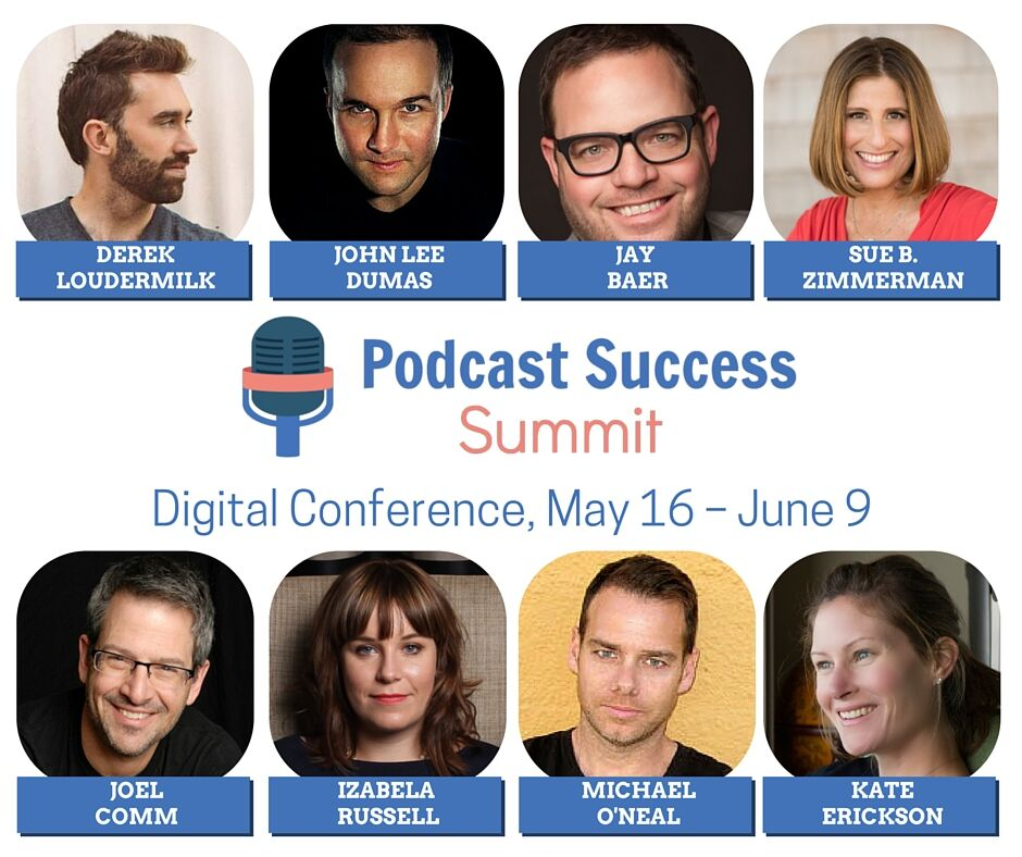 Derek Loudermilk Speaking Podcast Success Summit