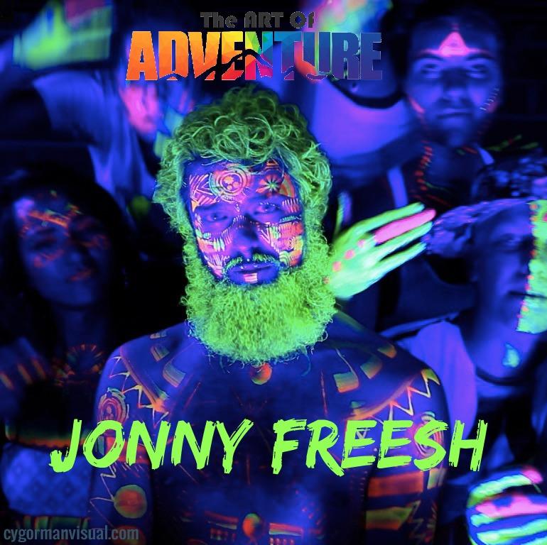 Jonny Freesh Art of Adventure