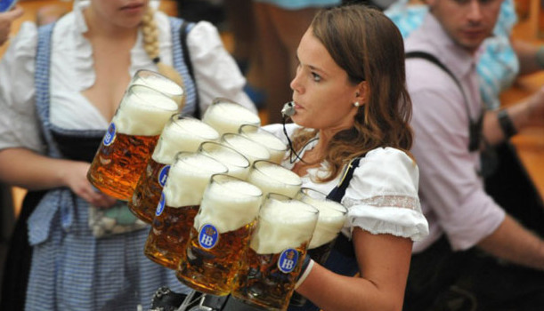 Oktoberfest Beer Girl Art of Adventure