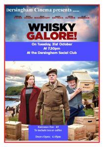 Village cinema poster October 2017