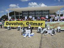 Entidades pedem que Gilmar Mendes apresse análise de financiamento de campanha
