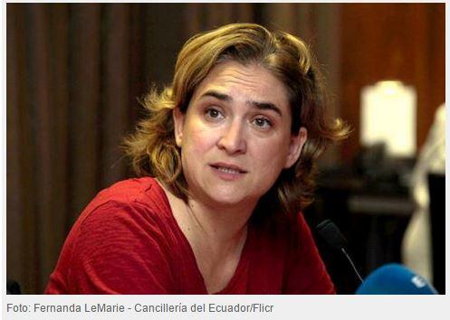 """Ada Colau: """"Barcelona e Madrid podem ser eixo de revolução democrática no Sul da Europa"""""""
