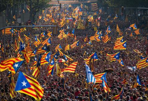 Banco da Espanha ameaça Catalunha com expulsão do euro