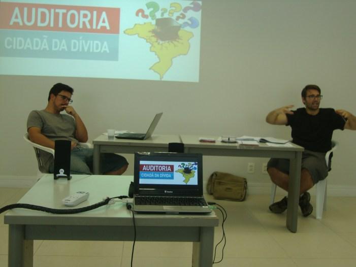 Núcleo Catarinense de Auditoria Cidadão da Dívida começa análise de documentos estaduais