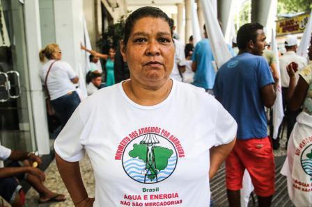 Em dia de luta internacional, mulheres relatam os impactos das barragens em suas regiões