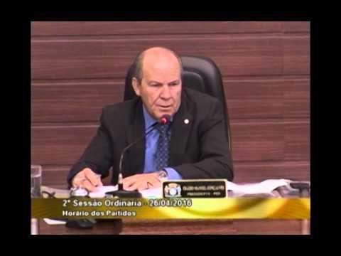 Nota de esclarecimento do vereador Prof. Lino Peres