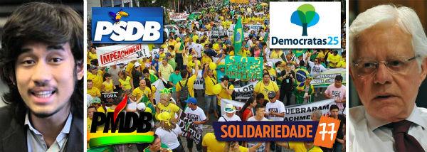 MBL foi financiado por PSDB, PMDB, DEM e SD mostram áudios