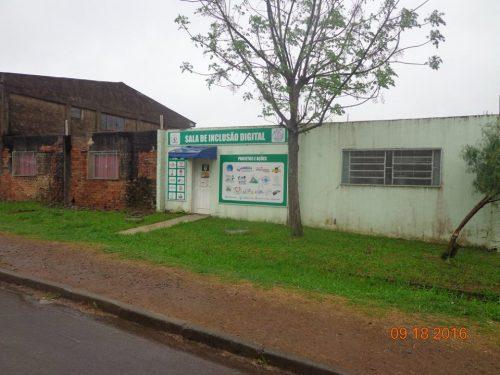 Karatecas e Apafec estão realizando melhorias no Pavilhão Comunitário do bairro São Miguel
