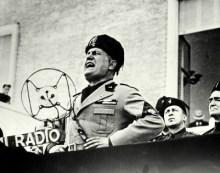 Quando Washington curtia Mussolini