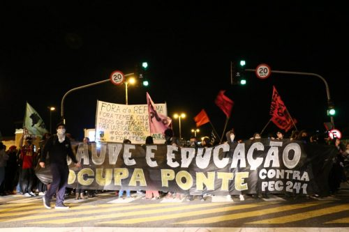 Desmonte do Brasil e violência