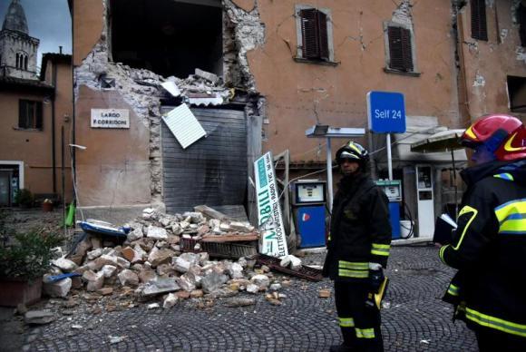 Um dia após terremoto, total de desabrigados na Itália pode chegar a 3 mil