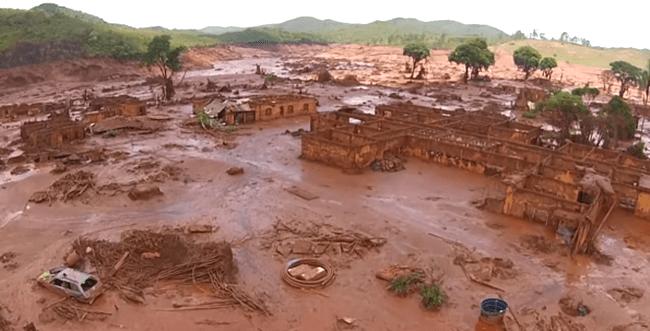 Samarco planeja estocar rejeitos em cima de destroços de Bento Rodrigues