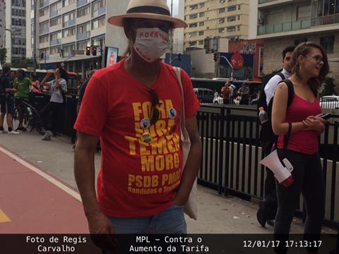 São Paulo: MPL – Contra o Aumento das Tarifas e a Integração