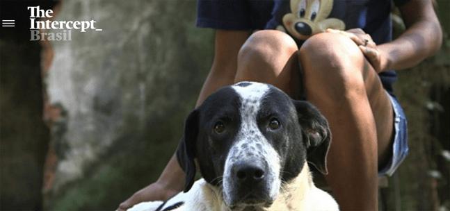 Karollyne e o abrigo de cães mantido por moradores de rua
