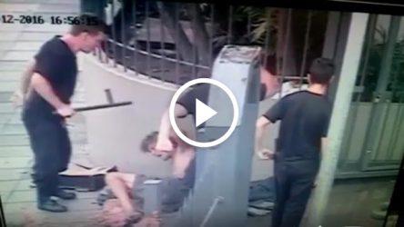 Seguranças da igreja Assembleia de Deus agridem morador de rua em POA