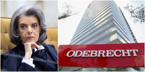 Carmén Lúcia homologa 77 delações da Odebrecht