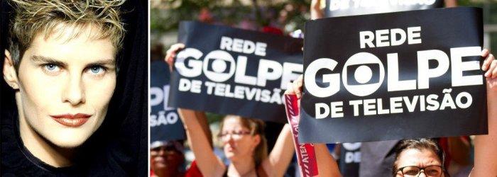 """Doris Giesse: """"Quem manda no Brasil é a Globo"""""""