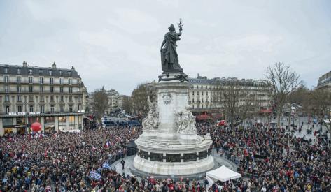 Candidato da esquerda francesa propõe Constituinte, revolução cidadã e refundação da República