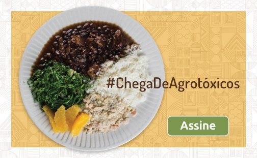 Plataforma #ChegaDeAgrotóxicos é lançada no Brasil