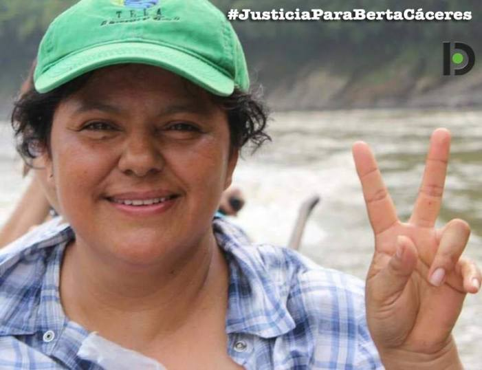 Honduras: Protestos e violência policial a um ano do assassinato de Berta Cáceres