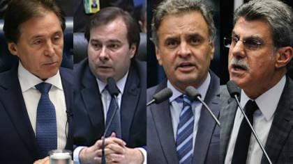 Lista de Janot tem cinco ministros e senadores como Aécio, Jucá e Serra