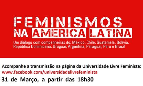 Debate ao vivo: Feminismos na América Latina