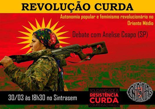 Florianópolis – Revolução Curda: autonomia popular e feminismo revolucionário