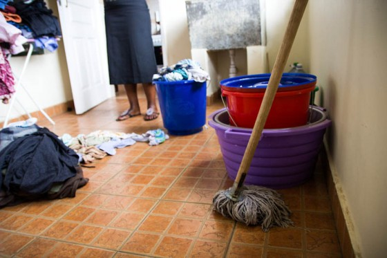 O trabalho doméstico é onde sexismo e classismo se convergem (Fonte: Miss Milli B)