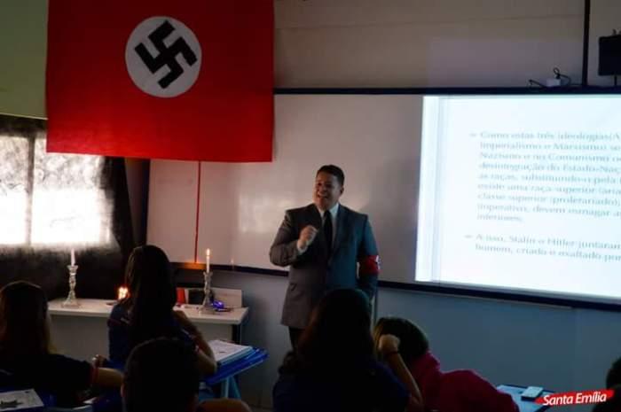 O caso da aula em Recife é apologia ao nazismo?