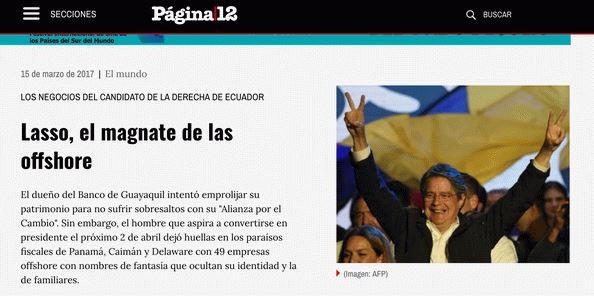 No Equador, jornais e TVs são multados por sonegarem informação à população. Imagina se fosse aqui, não é, Globo?
