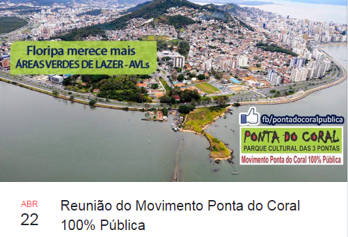 Reunião do Movimento Ponta do Coral 100% Pública [22/04]