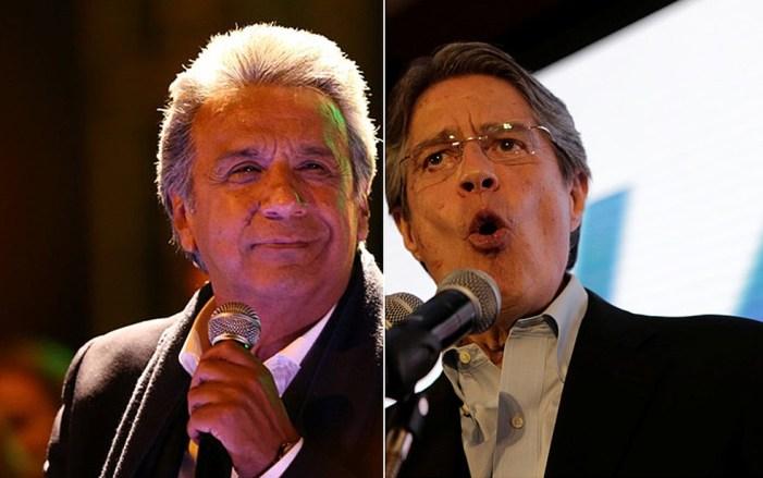 Começa o segundo turno no Equador entre Lenín Moreno e Guillermo Lasso