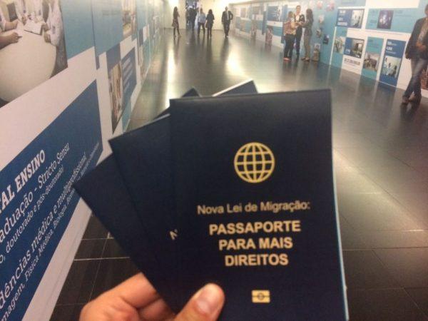 Nova Lei de Migração revoga o Estatuto do Estrangeiro e reconhece o migrante como sujeito de direitos, ficando de acordo com a Constituição. Crédito: Missão Paz